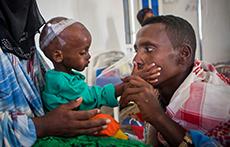 가뭄으로 고통받는 770만 아동들 - 사진