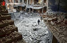 시리아 아동을 향한 전쟁 - 사진